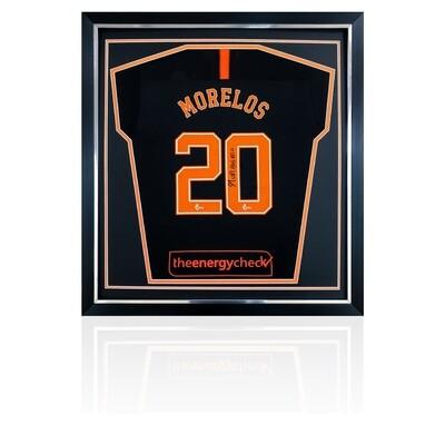Alfredo Morelos Signed Rangers Away Shirt