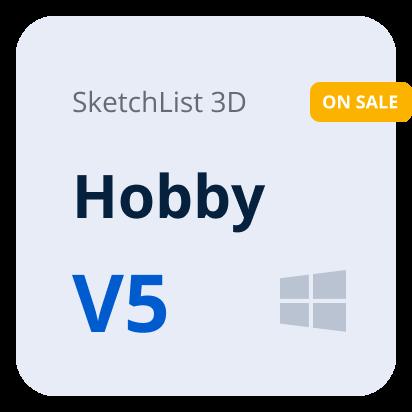 SketchList 3D V5 Hobby - Windows