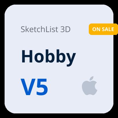 SketchList 3D V5 Hobby - Mac