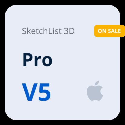 SketchList 3D V5 Pro - Mac