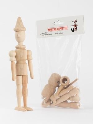 Assemblage de Pinocchio, 24cm