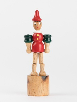 Wakouwa Pinocchio avec socle vert