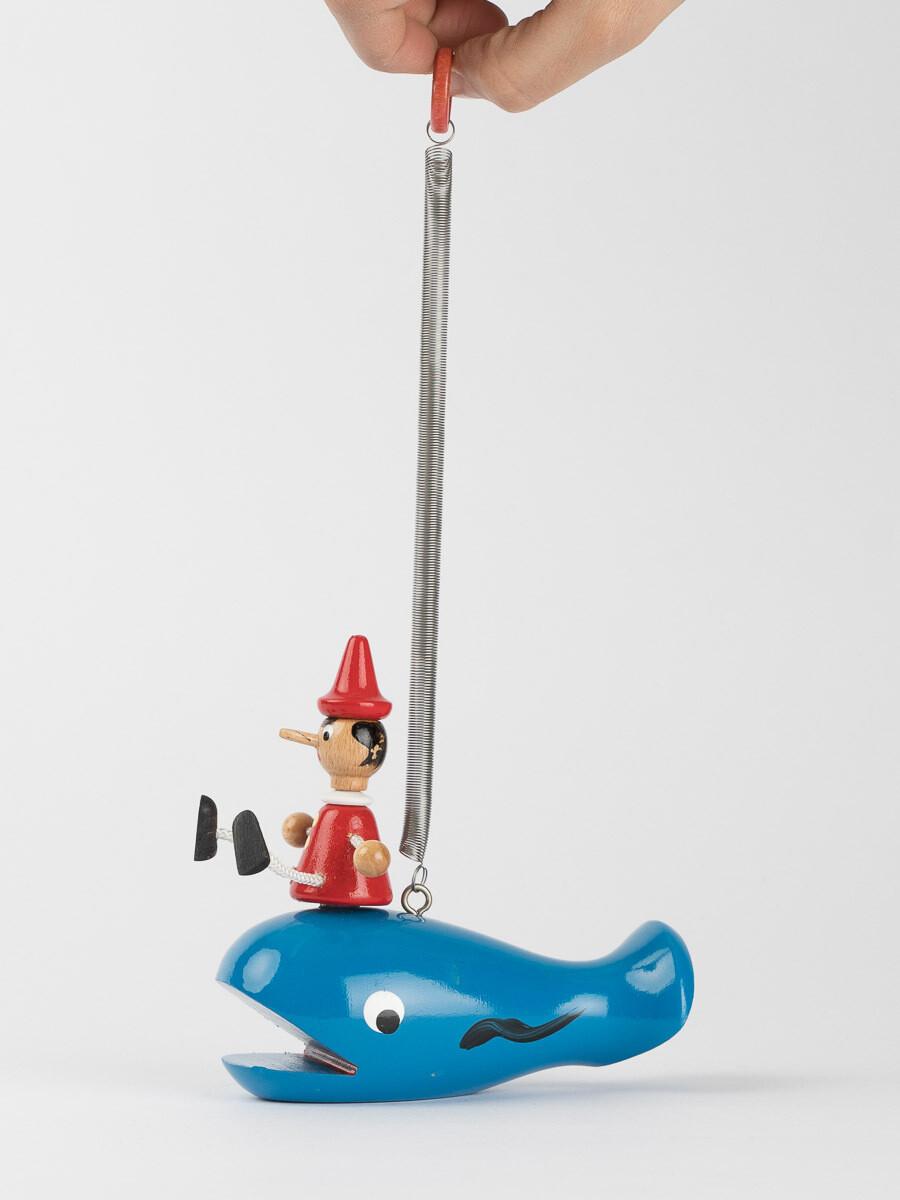La baleine et Pinocchio