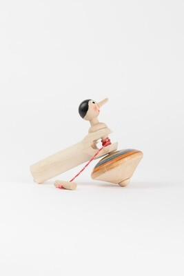 Toupie Pinocchio avec manche