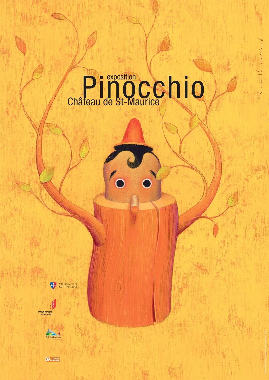 Affiche Pinocchio 2020, format A1