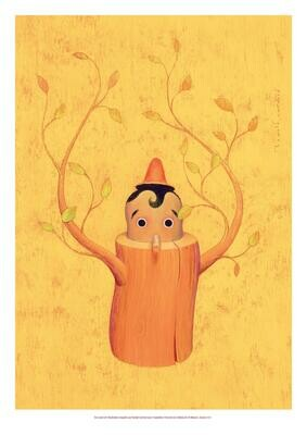 Affiche Pinocchio 2020, édition collector