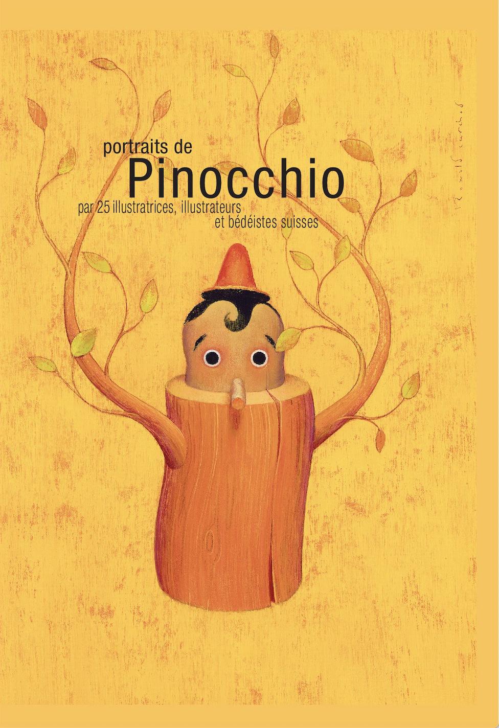 Livre : Portraits de Pinocchio