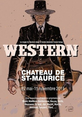 Affiche Western 2015, format A1