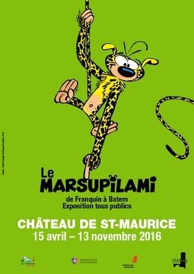 Affiche Marsupilami 2016, format A1