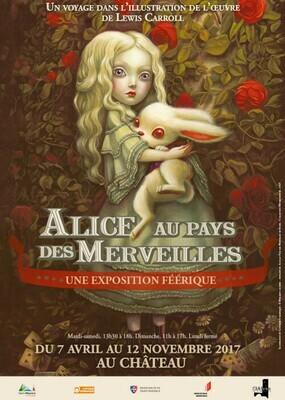 Affiche Alice aux Pays des Merveilles 2017, format A1