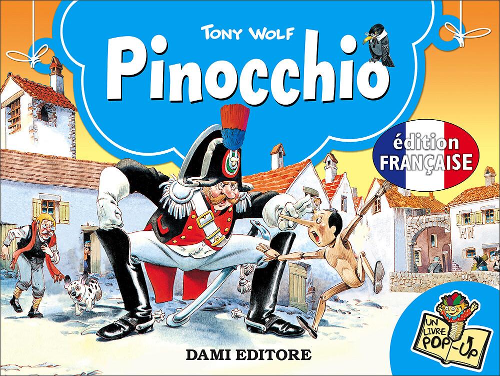 Livre : Pop-up Pinocchio, Tony Wolf