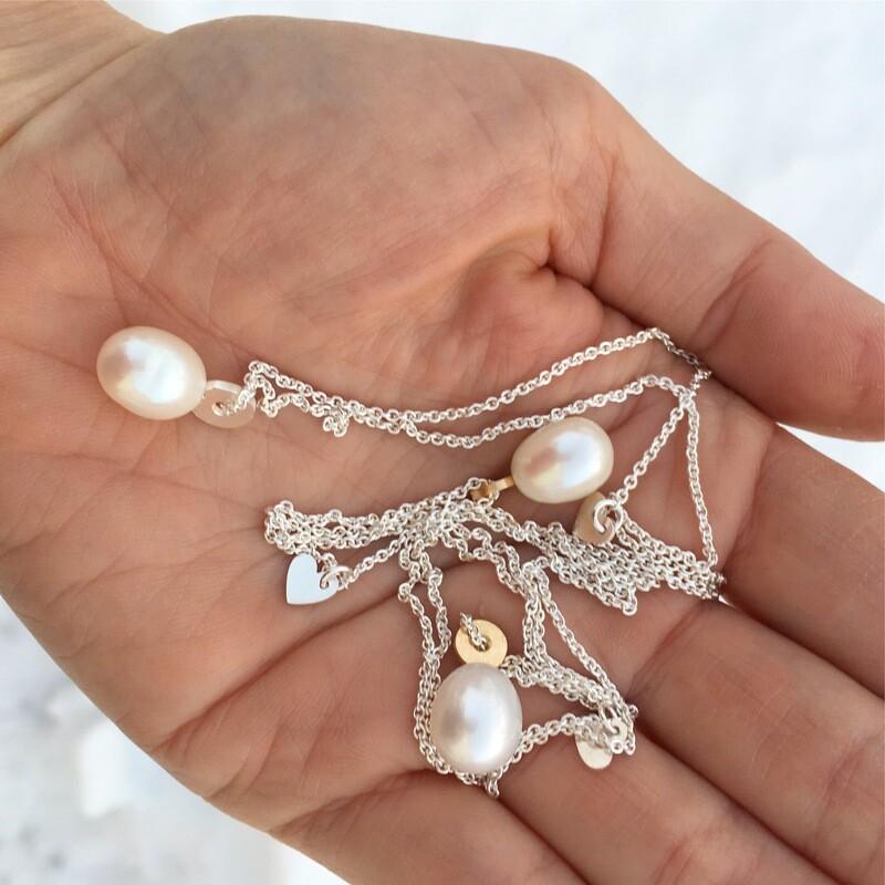Halsband - pärla