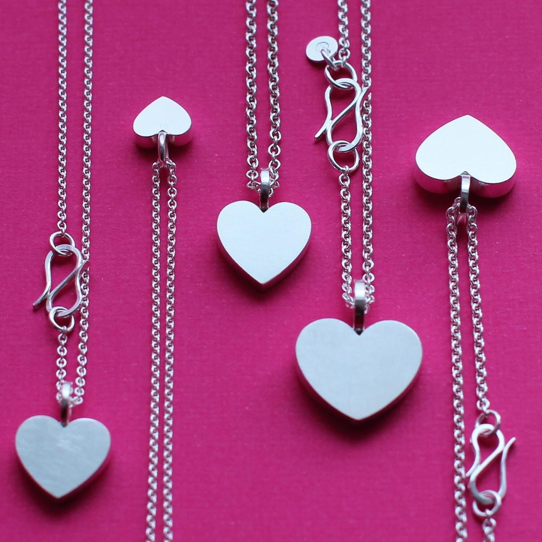 Halsband - hjärta