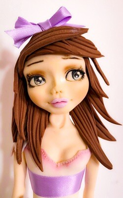 Lady hydrangea doll Tutorial