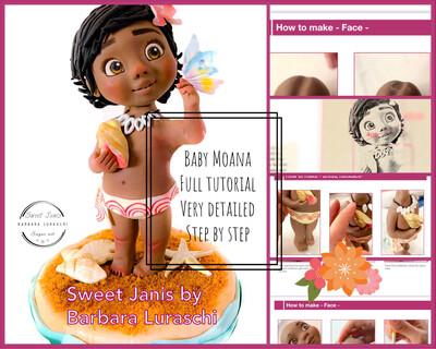 Baby Moana Ebook Tutorial