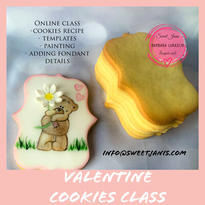 Hand painted cookie demo live