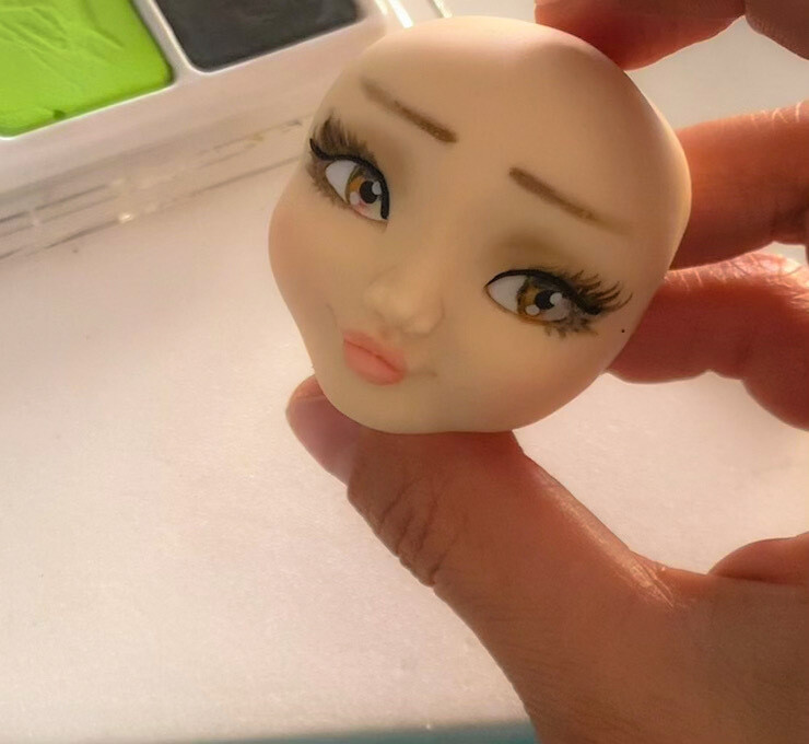 Modelling a face