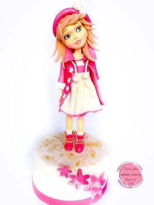 Mia-Standing  Figurine