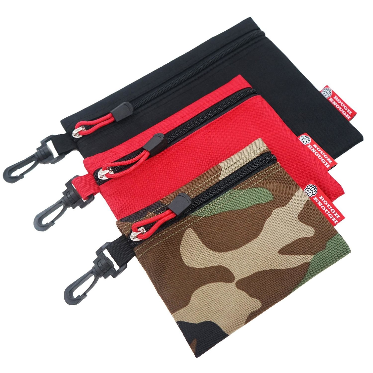 RE8042 Small Tool Bag Pouch Organizer EDC Zipper Pouch 3 in 1 Set