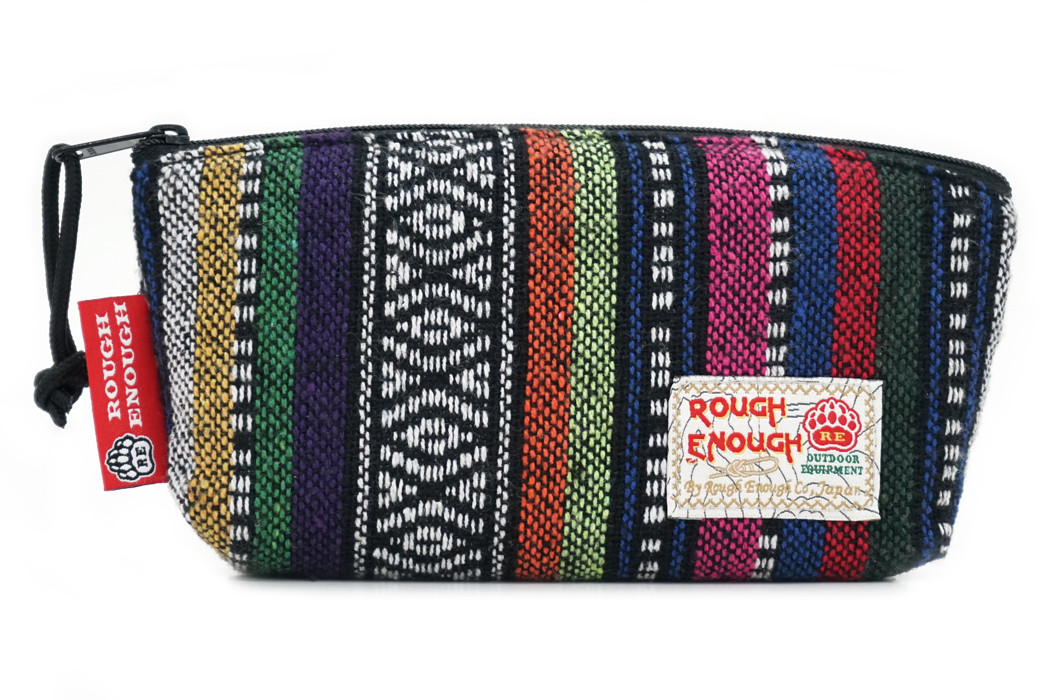 RE8350 Vintage Folk Small Cosmetic Bag