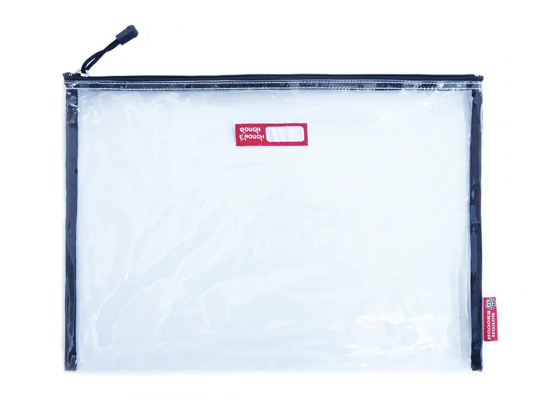 RE8353 Big Transparent Plastic Clear File Folders Organizer