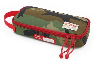 Rough Enough Small Tool Bag Pouch Zipper Big Pencil Case Box