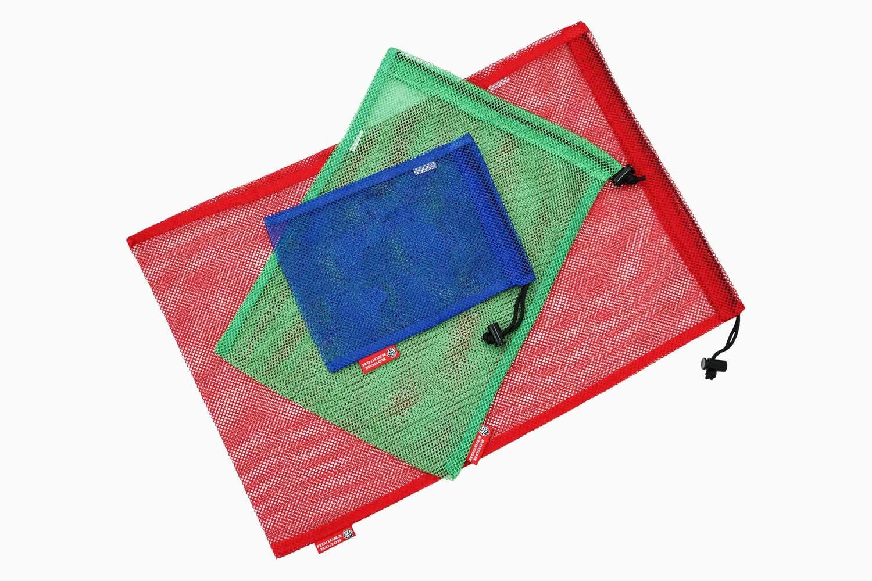 RE8041 Multi-purpose Portable Drawstring Mesh Storage Bag