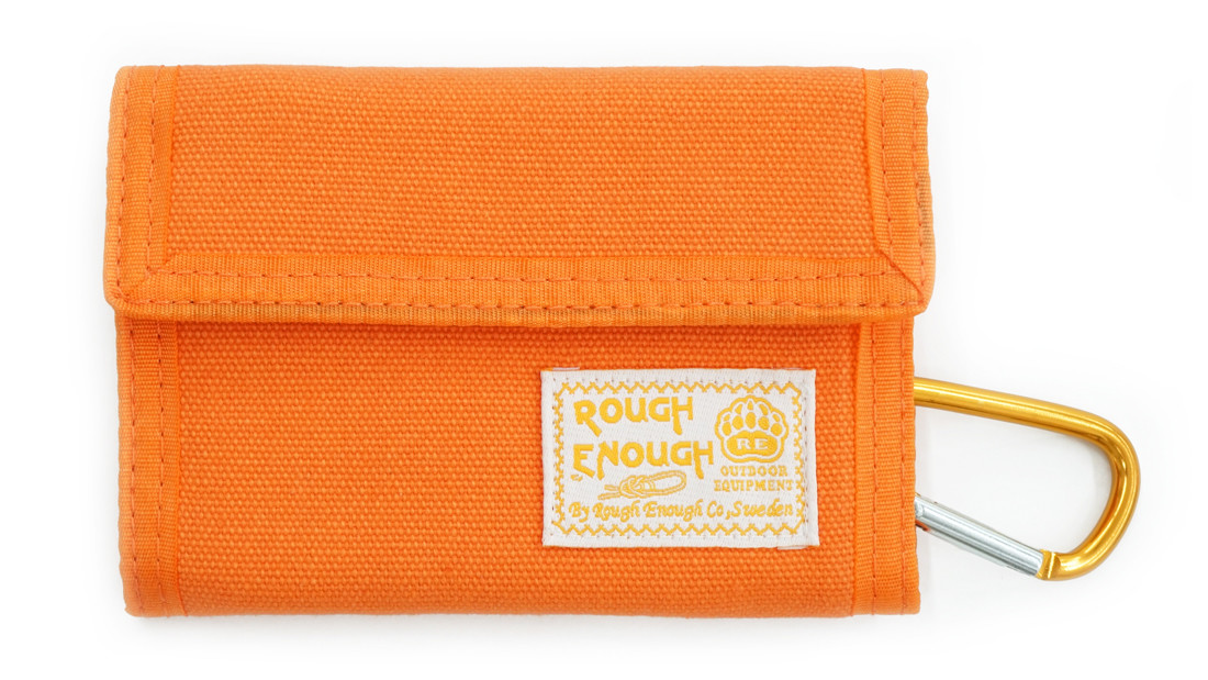 RE8418 Portable Canvas Trifold Wallet