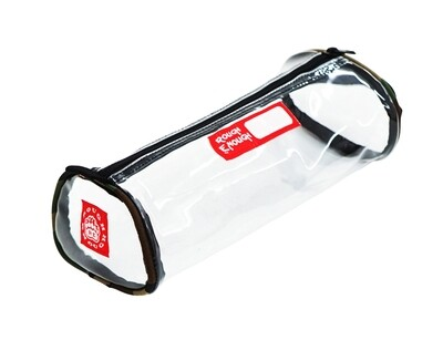 RE8058 Transparent Clear Small Pencil Case