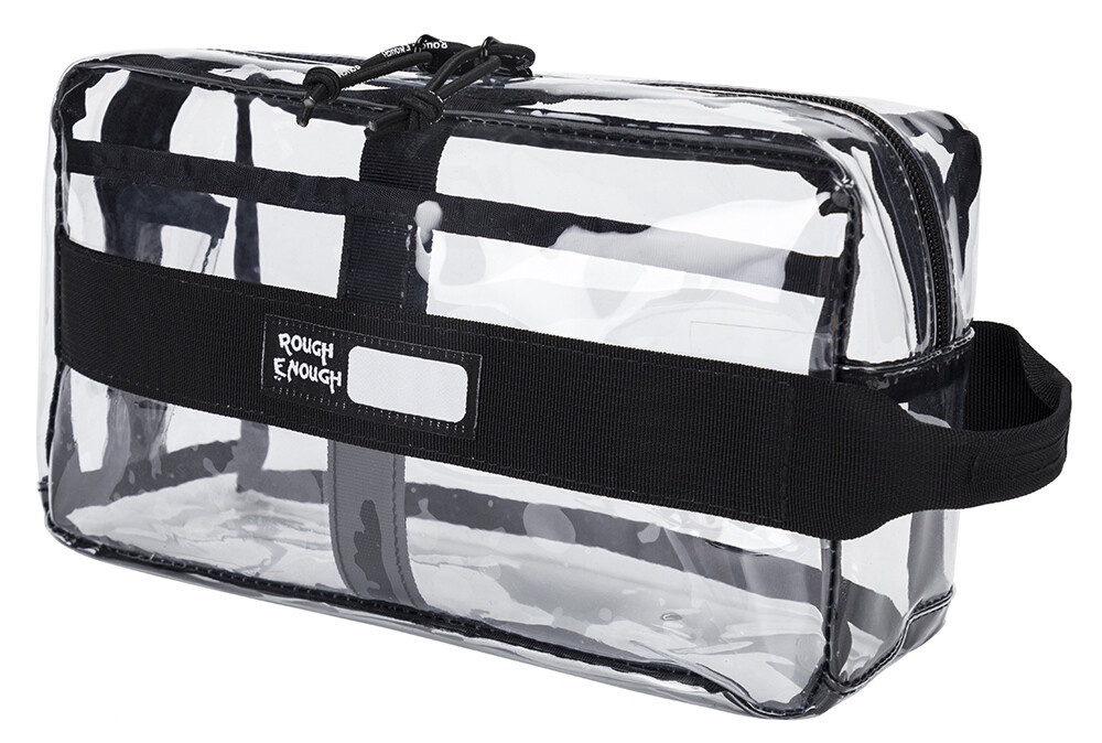 RE8429 Clear TSA Approved Toiletry Bag Makeup Organizer