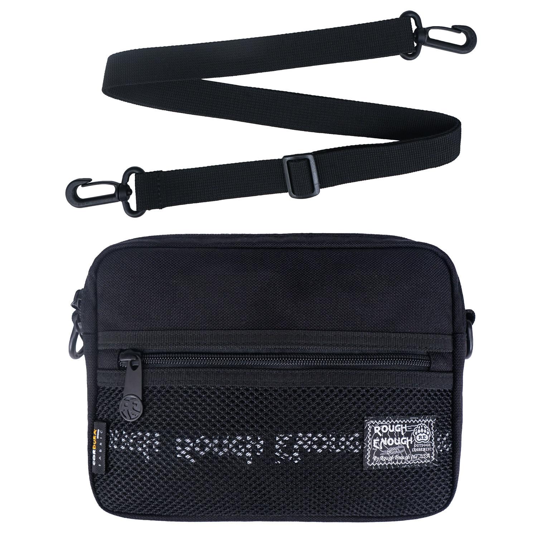 RE8465 Black Over the Small Shoulder Bag