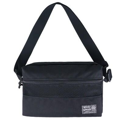 RE8466 Black Over the Small Shoulder Bag