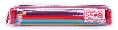 RE8357 Clear Small Pencil Case