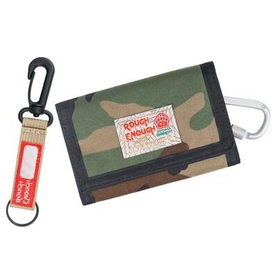 RE8345 Camo Wallet for Kids Credit Card Holder