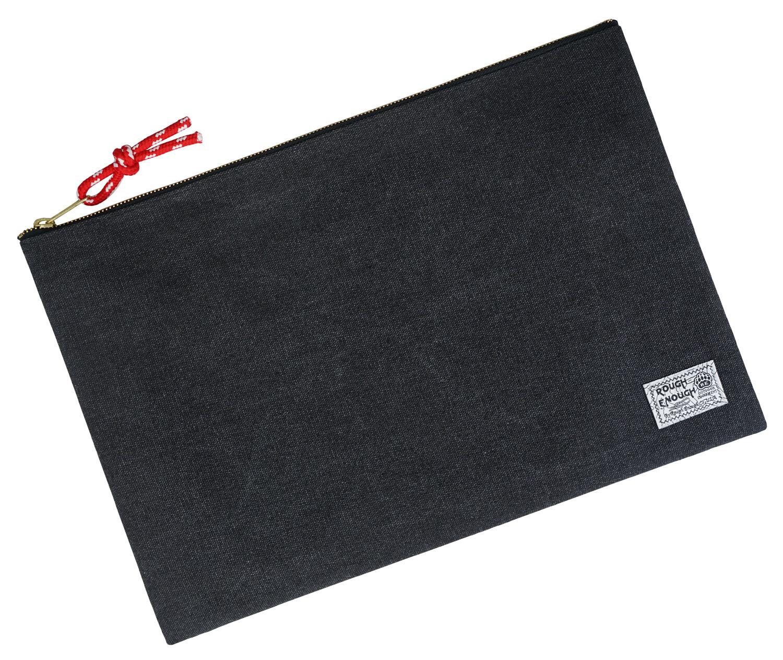 RE8205 Safe Large Document Folder File Organizer Holder Canvas with Zipper