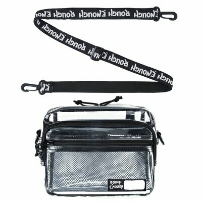 RE8423 TSA Transparent Fashion Shoulder Bag