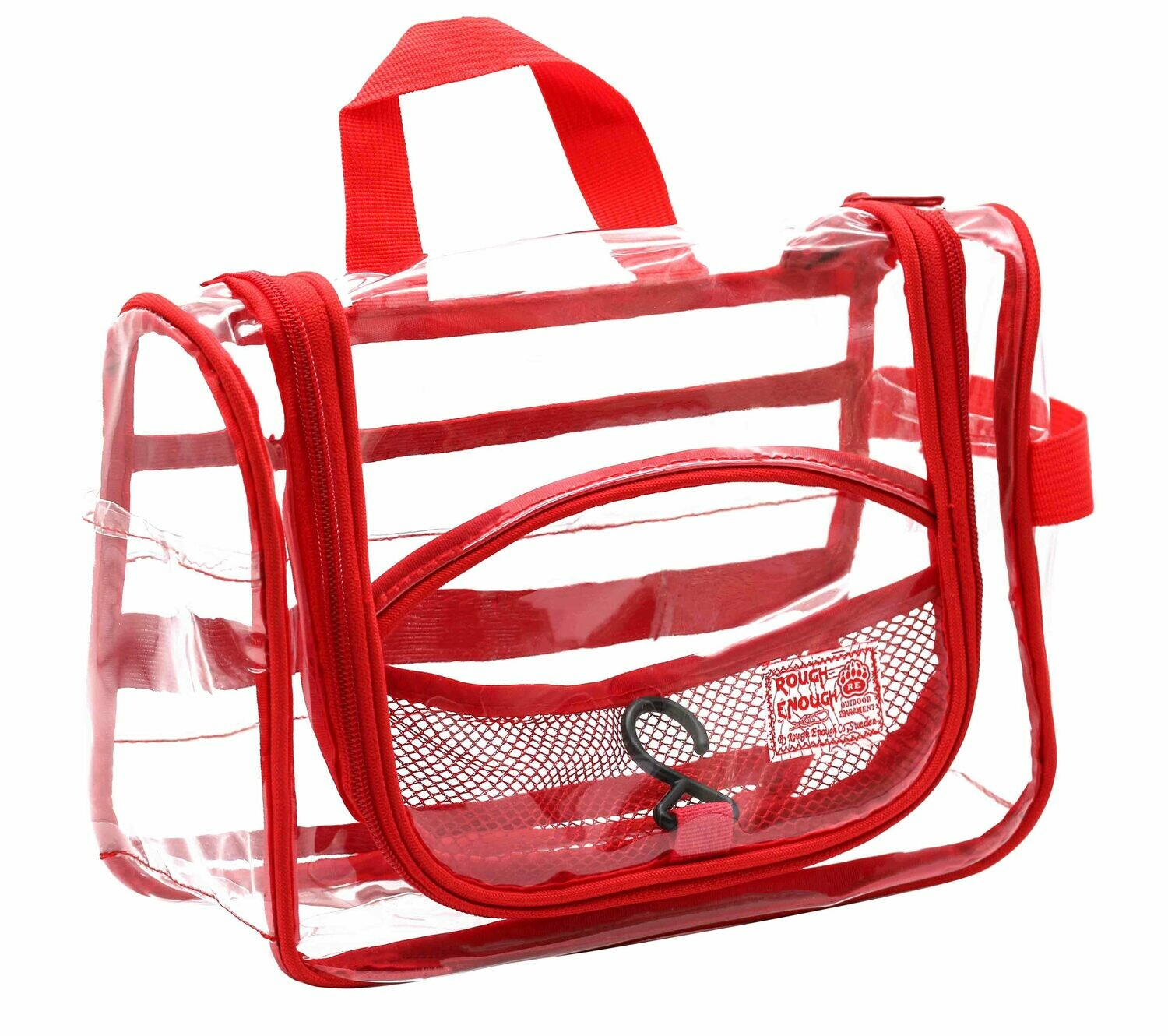 RE8367 Clear Travel Hanging Toiletry Bag