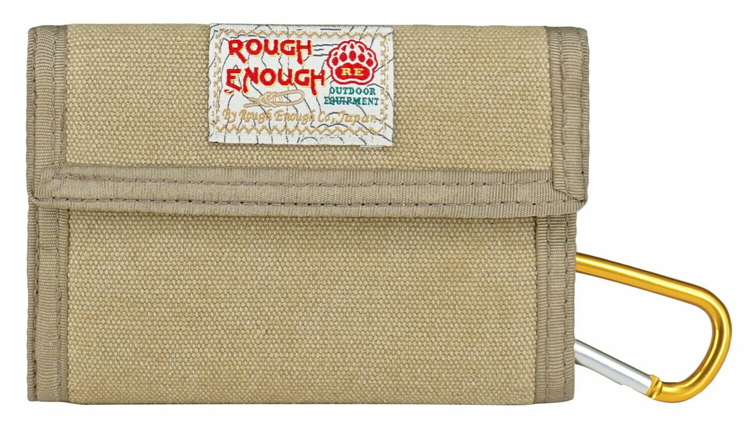 RE8002 Portable Canvas Trifold Wallet