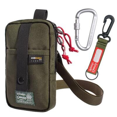 RE8490-Amry green Small Cell Phone Crossbody Bag