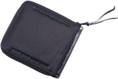 RE8375 Zipper Leather Wallet