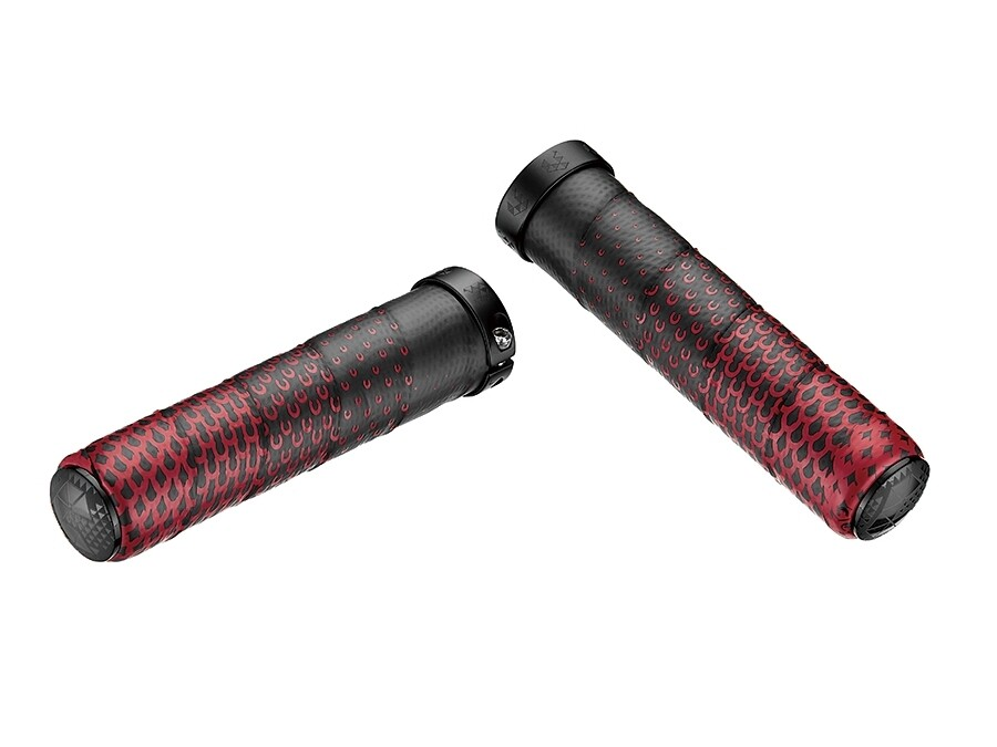 Ciclovation Advanced Hand Grip with Leather Touch - CC Fusion - Red