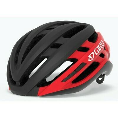 Giro Agilis Helmet- Matte Black/Red