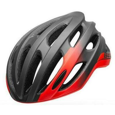 Bell Formula Helmet - Matte/Glossy Grey/Infrared