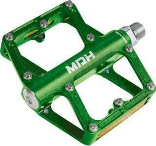 MDH PXC03 BMX Alloy Flat Pedal - Green