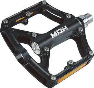 MDH PXC02 MTB Alloy Flat Pedal - Black