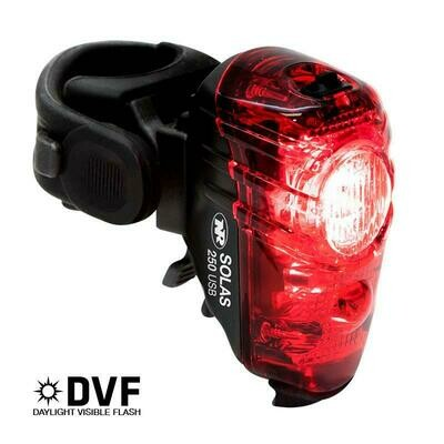 NiteRider Solas 250 Rechargeable Rear Light