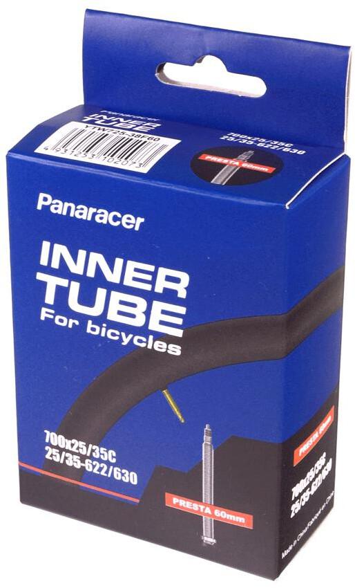Panaracer Inner Tube 700x18/25C Presta 80mm