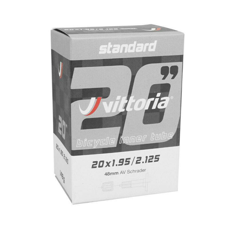 "Vittoria Standard Inner Tube 20 x 1.95/2.125"" Schrader"