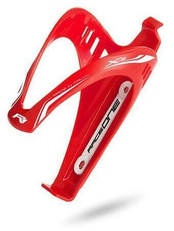 Raceone Matte Finish X3 Bottle Cage (Red)