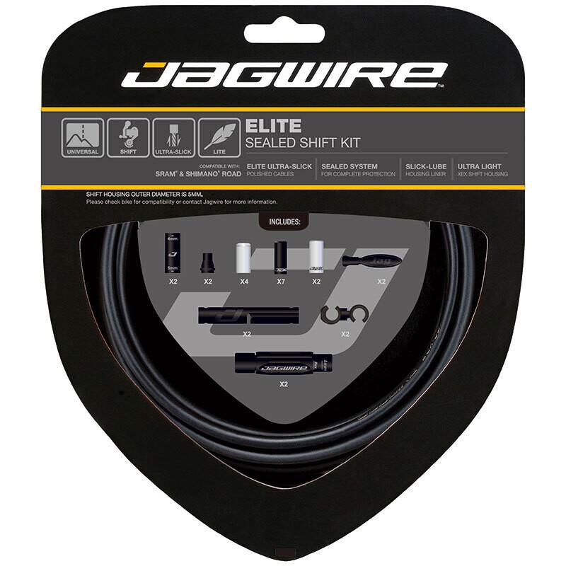 Jagwire 2x Elite Sealed Shift Stealth Black